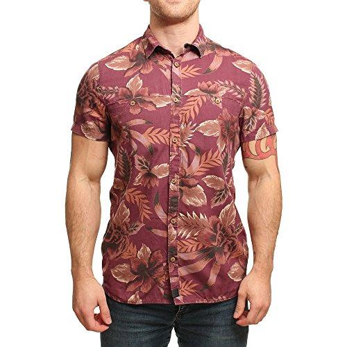 O´Neill LM Poya Festival Shirt - Camiseta para Hombre, Color Rojo, Talla M