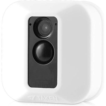 Jessy Silikon Schutzhülle Für Blink Xt Xt2 Überwachungskamera Kratzfest Uv Und Witterungsbeständig 1 Stück Weiß Elektronik