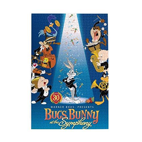EXking Bugs Bunny Symphony Puzzles für Erwachsene Kinder 3D Geburtstag Weihnachten Teambuilding Pädagogisches Intellektuelles Spaß Familienspiel
