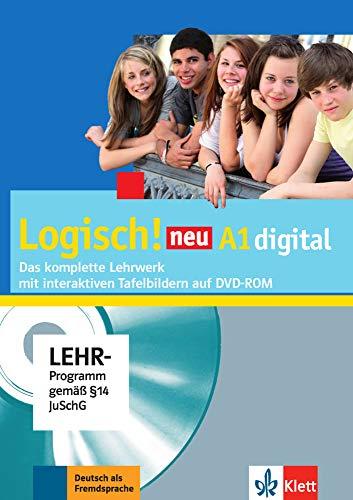 Logisch Neu A1. Ejercicios Pizarra Digita: Unterrichtspaket A1 DVD-Rom mit interaktiven Tafelbildern
