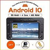 ZLTOOPAI Android 9.0 AutoRadio 1 din Navigazione GPS per Alfa Romeo 159 Brera Spider Sportwagon Wifi Stereo DVD Mulltimedia Audio