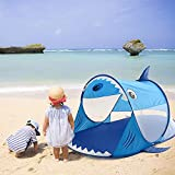 Cakunmik Automatisch schnell öffnendes Kinderzelt,Tragbares Pop Up Strandzelt,UV Sonnenschirm Zelt...