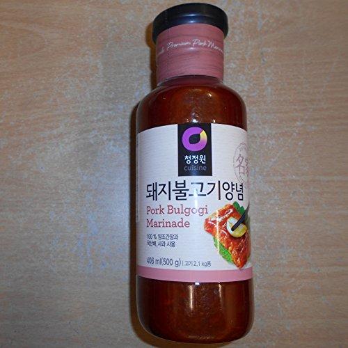 Bulgogi Pork Marinade Sauce 500g - Korean