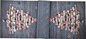 sander Tischläufer WEIHNACHTSZEIT 48 x 140 cm 2 Variationen (Baum)