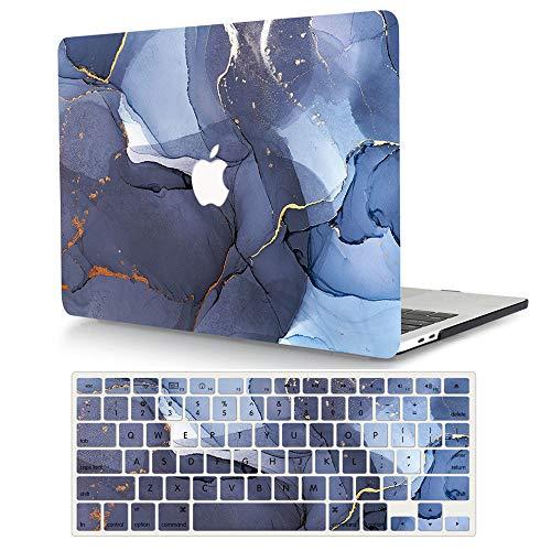 AJYX MacBook Pro 15 pulgadas funda 2015 2014 2013 2012 versión A1398, carcasa rígida de plástico con cubierta de teclado para versión antigua Mac Book Pro Retina 15 - Dark Mist