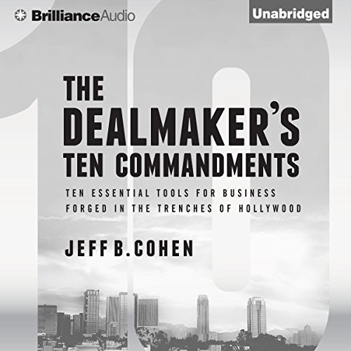 The Dealmaker's Ten Commandments audiobook cover art