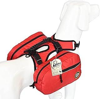 comprar comparacion Alforja de perro ajustable Tripper Hound mochila de viaje mochila para perros medianos y grandes, camping y senderismo, pa...