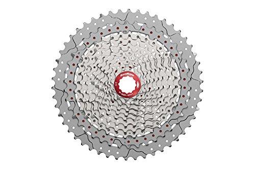 SunRace CSMX80 11-50T 11-Speed Wide Range Mountain Bike Cassette Silver