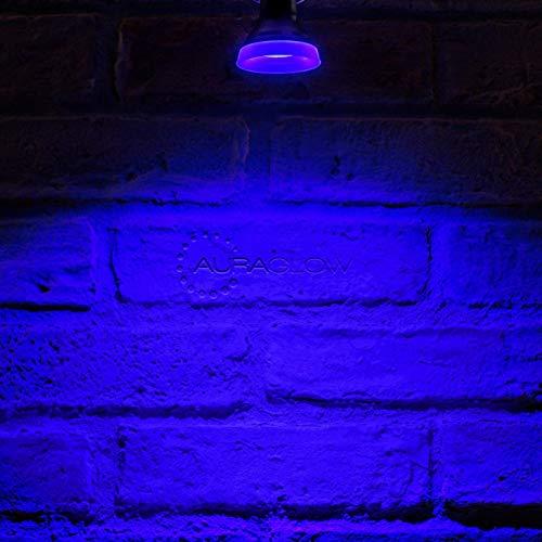 Auraglow LED-Leuchtmittel, schmaler Lichtstrahl, GU10 Spotlight-Leuchtmittel, Blau