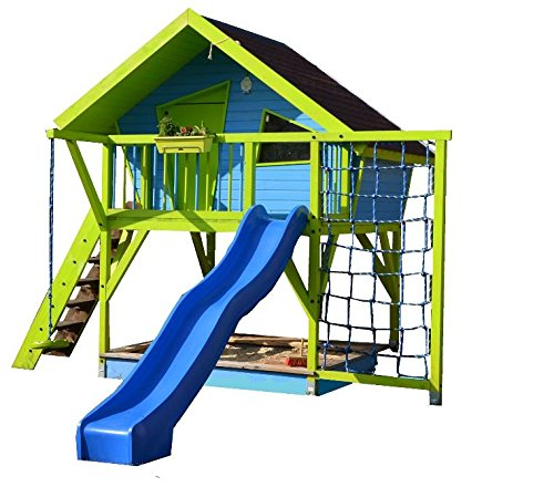 TF-Solutions Bauanleitung Spielhaus OLE, Stelzenhaus, Baumhaus, Bauplan