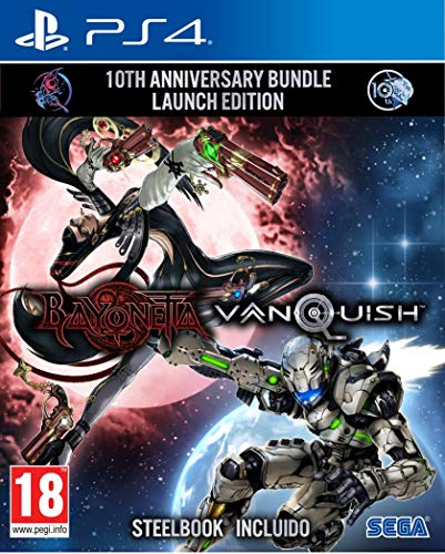 Bayonetta & Vanquish - 10th Anniversary Bundle Limited Edition - PS4