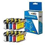 Fimpex Compatible Tinta Cartucho Reemplazo para Brother DCP-J562DW MFC-J4420DW MFC-J4620DW MFC-J4625DW MFC-J480DW MFC-J5320DW MFC-J5620DW MFC-J5625DW MFC-J5720DW MFC-J680DW LC223 (BK/C/M/Y, 8-Pack)