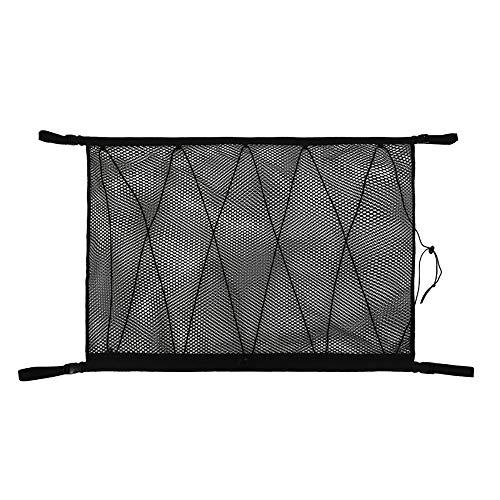 Monland – Organizador de techo de coche, bolsillo de red de techo...
