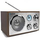 Blaupunkt RXN 180 | Retro und Designradio mit Bluetooth und Aux In | UKW/ FM Küchenradio...