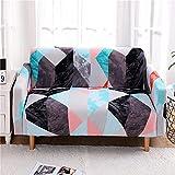 Tomifine Sofabezug, Bedruckter Sofaüberwürfe, Ecksofa,Elastischer Sofaschutzbezug, Geeignet Für 1-4 Personen Auf Dem Sofa Sitzend, Stretch rutschfest