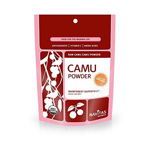Navitas Naturals Organic Raw Camu Camu Powder, 3-Ounce Pouches (Pack of 6)