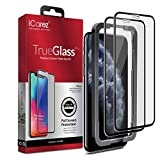 iCarez [Full Coverage Tempered Glass + Tray Installation] Screen Protector for Apple 2019 iPhone 11 Pro Max 6.5-Inch 2018 (Case Friendly) Easy Apply [ 2-Pack 0.33MM 9H 2.5D]