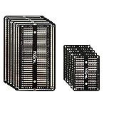10 tarjetas de prototipo, Breadboard soldable, circuito impreso perforado de doble cara, P...