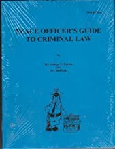 Best peace officer's guide to criminal law 25th edition Reviews