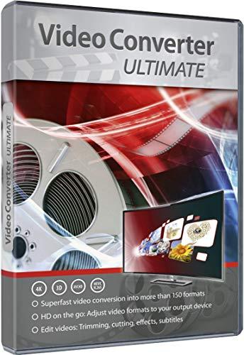VideoConverter Ultimate - Umwandlung, Bearbeitung, Konvertierung für über 150 Formate in jedes beliebige Video und Audio Format - gutes Programm zum Video Schnitt - für Windows 10 / 8.1 / 8 / 7