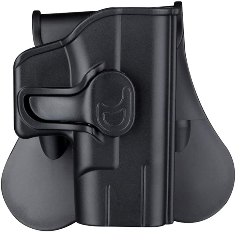 Gun Holster for Springfield Armory XD 3″ Sub-Compact 9mm/.40, Springfield XD 3'' Mod.2 Sub-Compact, 360° Adjustable OWB Paddle Tactical Holster