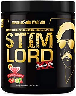Stim Lord Numero Dos by Anabolic warfare - Strawberry Margarita