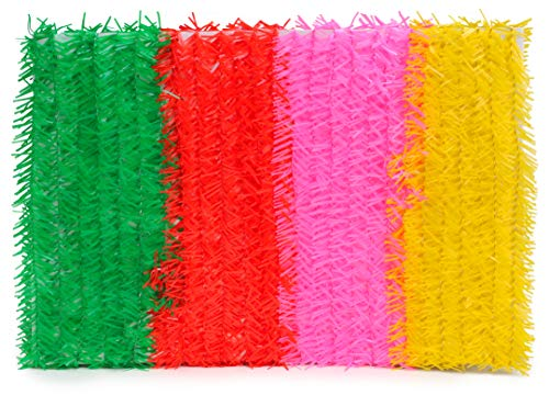 Toyland 8.4m Multi Coloured Wire Cord Garland - Festival/Party/Gay Pride Decorations