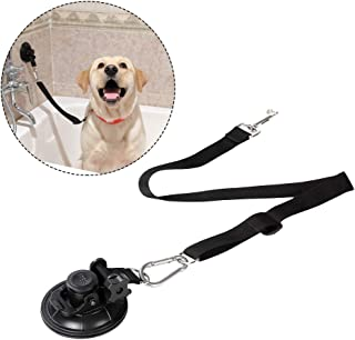 Portable Dog Bathing Restraint,Pet Grooming Suction Cup, Pets Shower Tether Straps, Any Size Dog