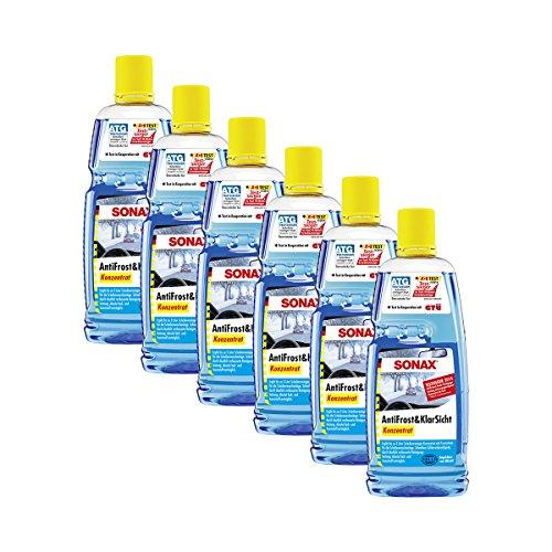 SONAX 6X 03323000 AntiFrost & KlarSicht Konzentrat 1L