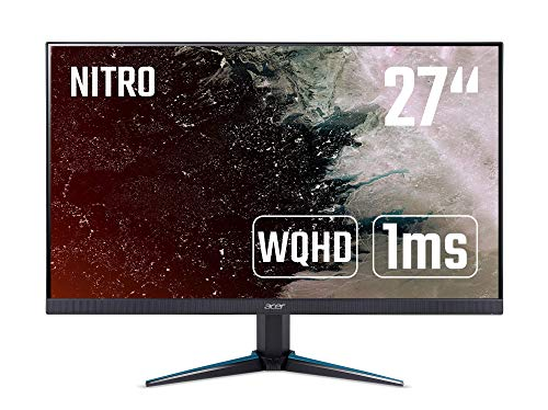 Acer Nitro VG270K Gaming Monitor 27 Zoll (69 cm Bildschirm) 4K (UHD), 60Hz, 4ms (G2G), 2xHDMI, DP, DP/HDMI FreeSync