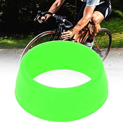 SALUTUYA 10PCS 25-30mm Seat Post Waterproof Cover Bicycle O Ring Bicycle Seatpos(Green)