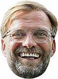 empireposter Fußball - Klopp, Jürgen - Maske aus hochwertigem Glanzkarton, mit Augenlöchern
