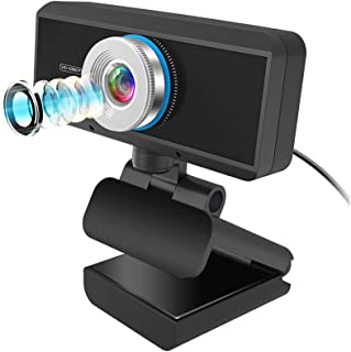 1080P Full HD Webcam USB Streaming Video Web Camera Built-in Stereo Microphone for PC Computer