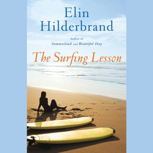 The Surfing Lesson audiobook cover art