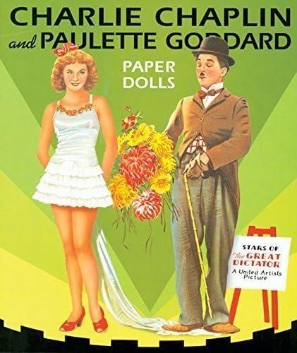 Charlie Chapman and Paulette Goddard Paper Dolls