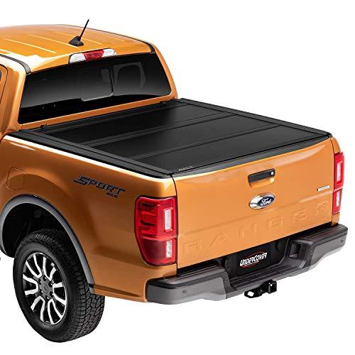 4. Undercover Ultra Flex Hard Folding Truck Bed Tonneau Cover