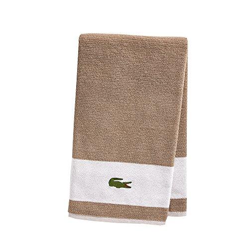 Lacoste Match Bath Towel, 100% Cotton, 600 GSM, 30