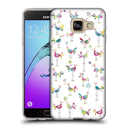 Head Case Designs Offizielle Turnowsky Huhn Stadt Nitz Natz Soft Gel Huelle kompatibel mit Samsung Galaxy A3 (2016)