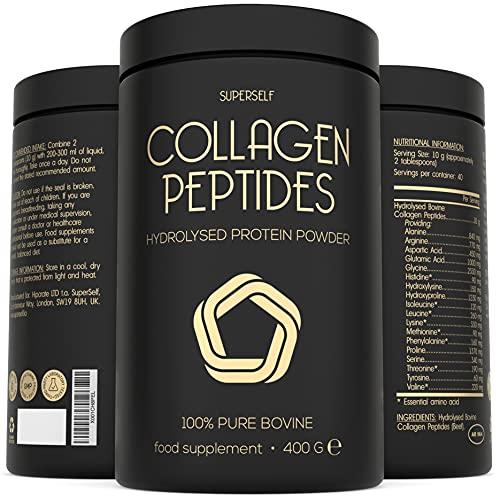 Premium Collagen Powder 400g - 100% Pure Bovine Collagen Type 1 & 3 -...