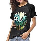 Tame Impala InnerSpeaker Woman's Classic Baseball Short Sleeves Tee Raglan Sleeve Pattern T Shirts M Black