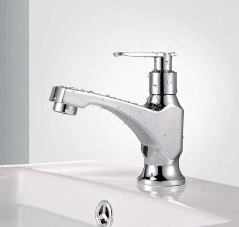 Basin Taps Swivel Spout Faucet Basin Faucet Single Cold Bathroom Mixer Tap with Single Handle Brass Valve Bathroom Basin Faucet
