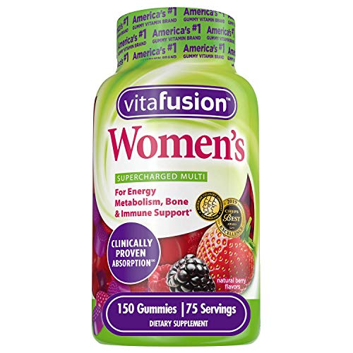 Vitafusion Women's Gummy Vitamins, 150 Count
