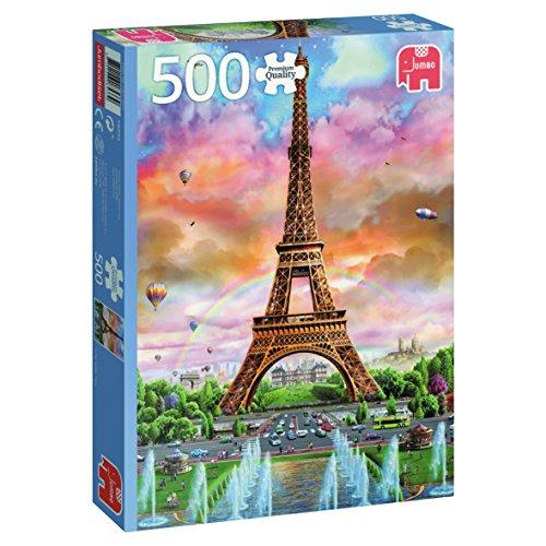 Jumbo - 18533 - Torre Eiffel, Paris - 500 Pezzi