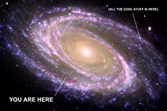 You Are Here Galaxy Photo Poster Cool Stuff Is Here 24in x36in