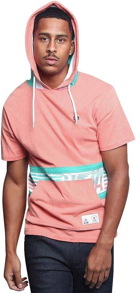 G-Style USA Trendy Short Sleeve Hoodie