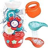 Juguete de Baño para Bebés, Juguete de Baño de Pared para Bebé de 18 Meses, Set de Juguetes de Ducha para Niños de 1 Año