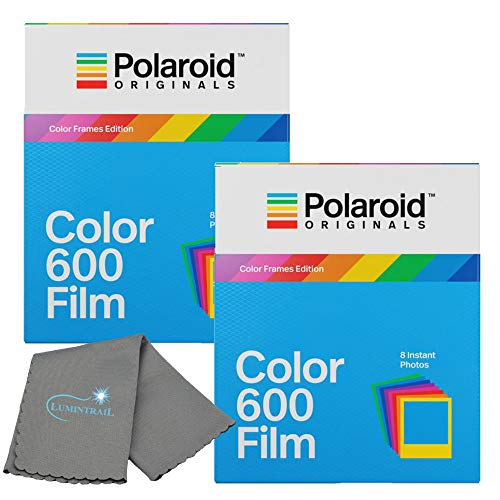Best Prices! Polaroid Originals Color Instant Film for 600 and i-Type Cameras Color Frames 2 Pack Bu...