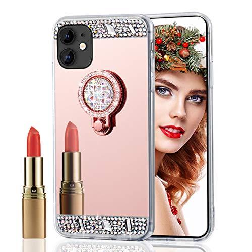 Asdsinfor - Carcasa para iPhone 11 Pro MAX (6,5 Pulgadas), diseño de Diamantes de imitación