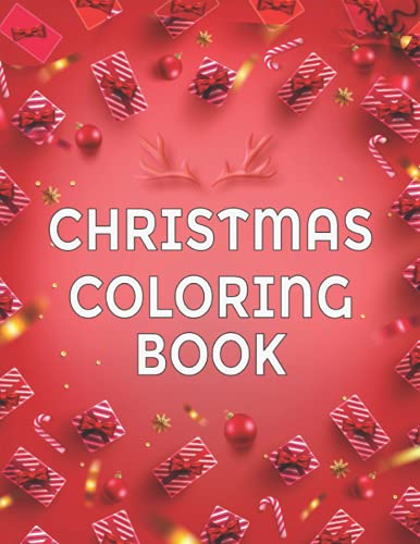 Christmas Coloring Book for kids: Beautiful Christmas Tree images of...