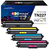 GPC Image Compatible Toner Cartridge Replacement for Brother TN227 TN227bk TN-227 TN223 TN-223 to use with HL-L3210CW HL-L3230CDW HL-L3270CDW HL-L3290CDW MFC-L3710CW MFC-L3750CDW MFC-L3770CDW (4 Pack)